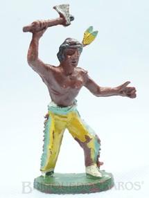 1. Brinquedos antigos - Casablanca e Gulliver - Índio de pé com machado