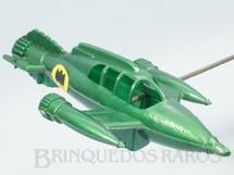 1. Brinquedos antigos - Tudor Rose - Nave do Batman com 19,00 cm de comprimento Década de 1960