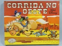 1. Brinquedos antigos - Coluna - Jogo Corrida no Oeste Walt Disney Caixa lacrada Década de 1970