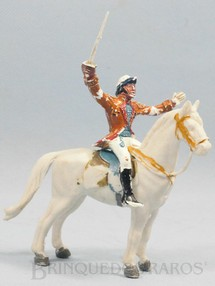 1. Brinquedos antigos - Casablanca e Gulliver - Nobre a cavalo Série Independência ou Morte Década de 1970