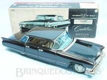 1. Brinquedos antigos - Bandai - Cadillac Sedan 1960 Series 62 Quatro portas sem coluna Série Automobile of the Word Década de 1960