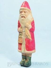 1. Brinquedos antigos - Sem identificação - Papai Noel com feições orientais 23,00 cm de altura Santa Claus Década de 1930