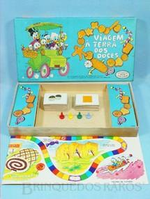 1. Brinquedos antigos - Coluna - Jogo Viagem à Terra dos Doces Walt Disney Década de 1960