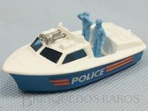 1. Brinquedos antigos - Matchbox - Police Launch Superfast