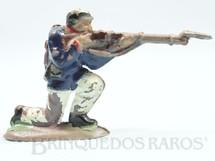 1. Brinquedos antigos - Fanabri - Soldado do Exécito Brasileiro ajoelhado atirando com Fuzil Batalha do Tuiutí Década de 1960