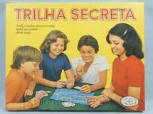 1. Brinquedos antigos - Coluna - Jogo Trilha Secreta caixa lacrada Década de 1980