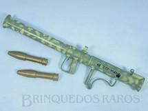 1. Brinquedos antigos - Palitoy - Conjunto Action Man Bazooka Set com 3 itens  Bazuca camuflada Falcon Ano 1965