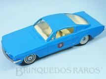 1. Brinquedos antigos - Kit Car - Ford Mustang GT Fastback azul com 17,00 cm de comprimento Década de 1970
