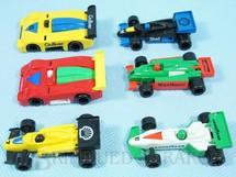 1. Brinquedos antigos - Casablanca e Gulliver - Carros de Corrida diversos Preço por unidade