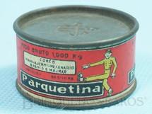 1. Brinquedos antigos - Sem identificação - Lata de Cêra Parquetina com 4,0 cm de diamêtro Brinde da Década de 1950