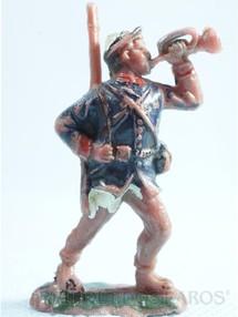 1. Brinquedos antigos - Fanabri - Corneteiro do Exército Brasileiro Batalha do Tuiutí Década de 1960