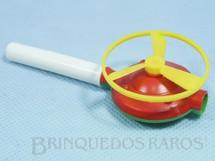 1. Brinquedos antigos - Sem identificação - Disco Voador de assoprar 4,00 cm de diamêtro Década de 1970