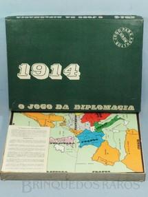 1. Brinquedos antigos - Grow - 1914 o Jogo da Diplomacia Década de 1970