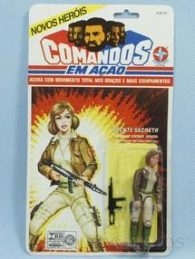 1. Brinquedos antigos - Estrela - Comandos em Ação Agente Secreta lacrado