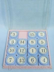 1. Brinquedos antigos - Santa Maria - Quebra Cabeça de Números Década de 1960