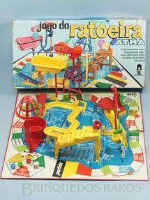 1. Brinquedos antigos - Atma - Jogo da Ratoeira completo Década de 1970