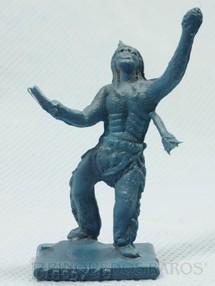1. Brinquedos antigos - Sem identificação - Índio ferido Brinde Toddy numerado 10 década de 1960