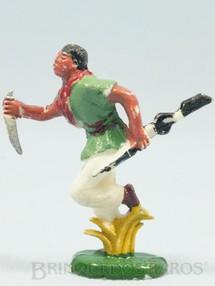 1. Brinquedos antigos - Casablanca e Gulliver - Caçador com rifle e faca Série Safari na África Década de 1960