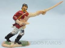 1. Brinquedos antigos - Fanabri - Comandante do Exército Paraguaio com Sabre e revolver Batalha do Tuiutí Década de 1960