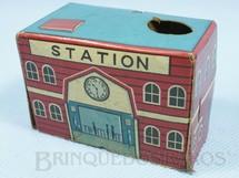 1. Brinquedos antigos - Sem identificação - Estação de passageiros com 5,00 cm de altura Década de 1960