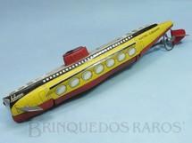1. Brinquedos antigos - Schuco - Electro Submarino de lata e plástico com 33,00 cm de comprimento Década de 1960