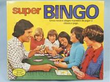 1. Brinquedos antigos - Coluna - Jogo Tombola Loto Super Bingo Caixa lacrada Década de 1980