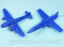 1. Brinquedos antigos - Sem identificação - Aviões diversos Brinde Mandiopã Década de 1960 Preço por unidade