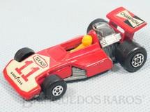 1. Brinquedos antigos - Matchbox - Formula 5000 Superfast vermelho