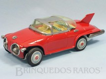 1. Brinquedos antigos - Asahi - General Motors Concept Futuristic Car Firebird II Turbine 22,00 cm de comprimento Ano 1956