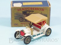 1. Brinquedos antigos - Matchbox - 1909 Opel Coupe Yesteryear