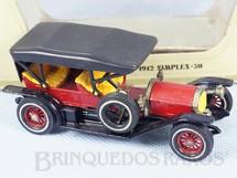 1. Brinquedos antigos - Matchbox - 1912 Simplex Yesteryear Década de 1970
