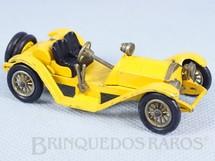 Brinquedos Antigos - Matchbox - 1913 Mercer Raceabout Yesteryear amarelo Década de 1960