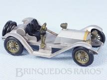 1. Brinquedos antigos - Matchbox - 1913 Mercer Raceabout Yesteryear prata Década de 1960