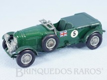 1. Brinquedos antigos - Matchbox - 1929 Bentley 4.5 litre Banco verde Yesteryear
