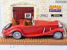 1. Brinquedos antigos - Matchbox - 1938 Mercedes Benz 540K Yesteryear Década de 1980