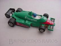 1. Brinquedos antigos - Politoys e Polistil - Alfa Romeo Turbo Benetton Formula 1 Piloto Eddie Cheever Polistil Década de 1980