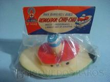 1. Brinquedos antigos - Estrela - Rebocador Chu-Chu com 15,00 cm de comprimento Década de 1960