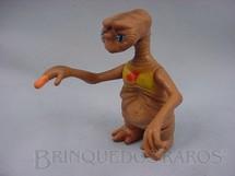 1. Brinquedos antigos - Sem identificação - ET o Extraterrestre com luzes nos olhos e no dedo Década de 1980