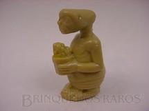 1. Brinquedos antigos - Mimo - ET o Extraterrestre com 5,00 cm de altura Década de 1980