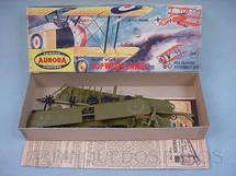 1. Brinquedos antigos - Aurora - Avião Sopwith Camel Década de 1960