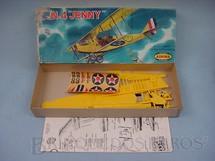 1. Brinquedos antigos - Aurora - Avião JN.4 Jenny Década de 1960