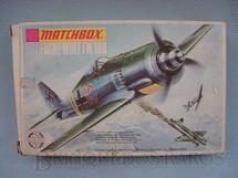 1. Brinquedos antigos - Matchbox - Avião Focke Wulf FW 190