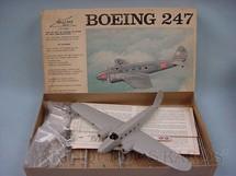 1. Brinquedos antigos - Williams Bros. - Avião Boeing 247 parcialmente montado Década de 1960