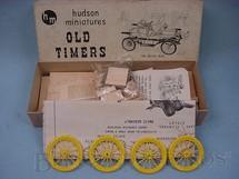 1. Brinquedos antigos - Hudson Miniatures - Carro Buick Bug 1911 de madeira e plástico Ano 1949