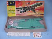 1. Brinquedos antigos - Revell - Avião IL 38 Bison Bombardeiro Russo