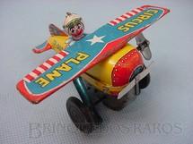 1. Brinquedos antigos - Yone - Avião de acrobacias Circus Plane com palhaço