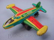 1. Brinquedos antigos - Metalma - Avião a jato com 8,00 cm de comprimento Década de 1970