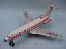 1. Brinquedos antigos - Modern Toys e Masudaya Toys - Boeing 727 com 32,00 cm de comprimento Ano 1967