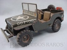 1. Brinquedos antigos - Arnold - Jeep Willys da Força de Ocupação Made in US Zone Década de 1950