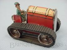 1. Brinquedos antigos - Gama - Trator de esteira com 6,50 cm de comprimento Made in US Zone Década de 1950